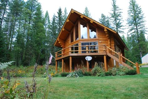 mt cabins for vacation home astrid cabin montana columbia falls mt