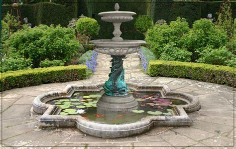 Garten Springbrunnen Aus Stein by Medium 2 Tier Bronze Dolphin Garden