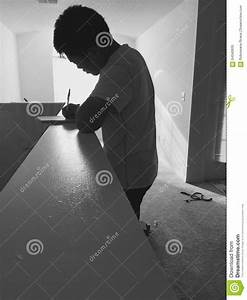Man Writing Editorial Image - Image: 64340830