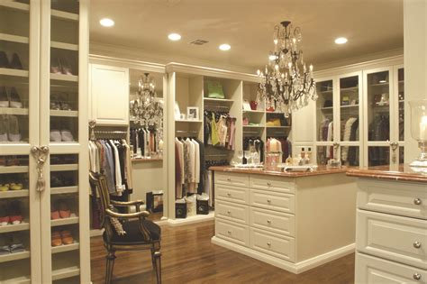 Large Closets by A Built In Closet System Functional For A Big House