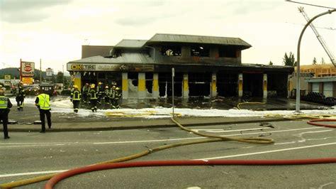 Arson Suspected In Abbotsford Tire Store Fire