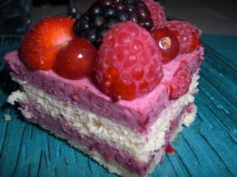 mousse de fruits rouges recette
