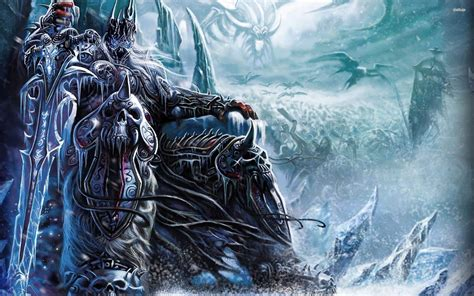 Lich King Animated Wallpaper - wow screensavers and animated wallpaper 74 images