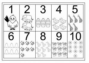 Number 1-10 Worksheets Free | Activity Shelter