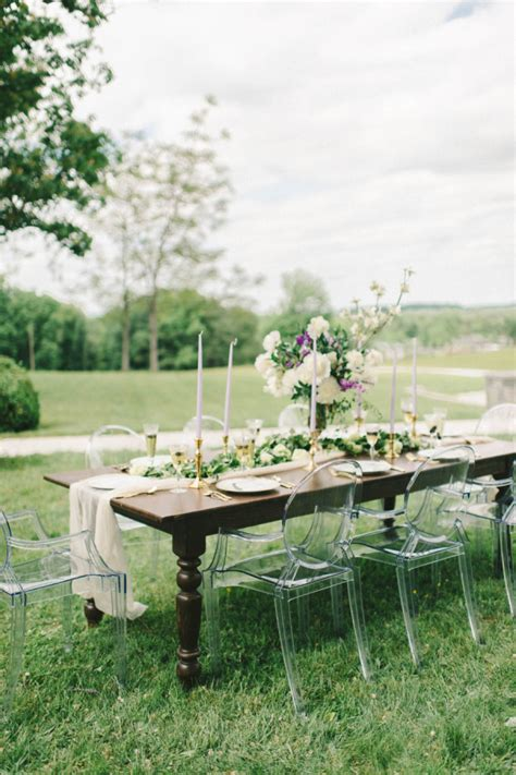 ghost chairs with wood table wood wedding table with ghost chairs elizabeth anne