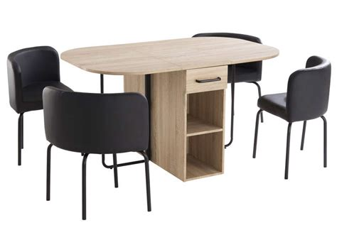 ensemble table et chaise conforama ensemble table 4 chaises kooc chez conforama