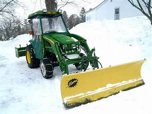 Compact Tractor Snow Removal Setups