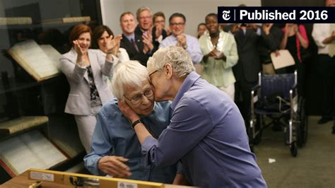 Connie Kopelov Of First Same Sex Couple Legally Married