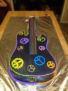 Music Musicians Musical Instruments Cakes on Pinterest