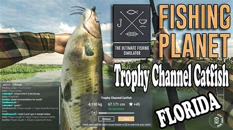 fishing florida channel catfish planet trophy