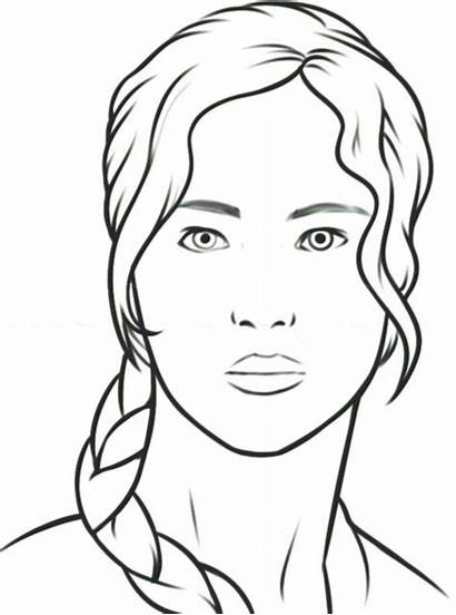 Easy Drawing Culture Pop Draw Katniss Step