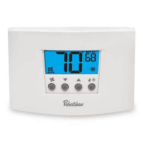 rs4110 robertshaw rs4110 digital non programmable thermostat heat single stage 1 heat