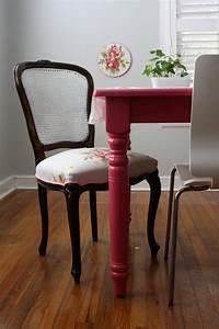 Chaise Moderne Avec Table Ancienne : relooker un meuble ancien avec de la peinture id es supers ~ Teatrodelosmanantiales.com Idées de Décoration