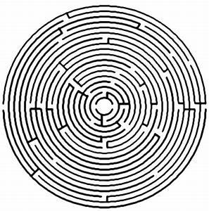 Circle Maze - DopePicz | Calendars, Labyrinths, clocks ...