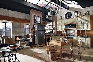 deco style loft industriel With decoration interieur style industriel