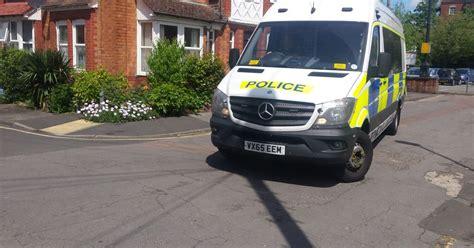 armed police   gloucesters cromwell street earlier