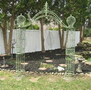 wedding arches and columns for sale garden trellis arch 9 39 wrought iron antique mint