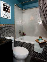bathroom tile designs photos 20 Small Bathroom Before and Afters | HGTV