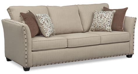 value city furniture sleeper sofa mckenna queen innerspring sleeper sofa loveseat and