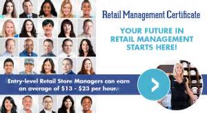 College Marketing Materials - Retail Management Certificate
