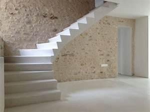 Escalier De Maison Interieur : 17 meilleures id es propos de escalier beton sur ~ Zukunftsfamilie.com Idées de Décoration
