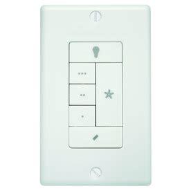 shop white wall mount universal ceiling fan remote