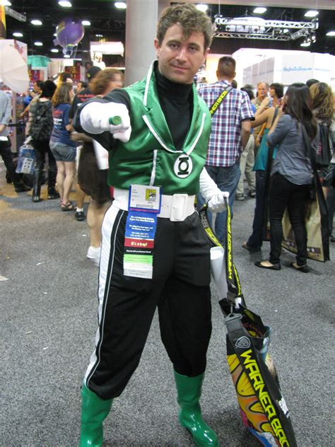 sdcc  cosplay  green lantern guy gardner