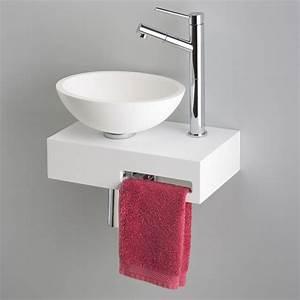 Petit Lave Main D Angle Wc : petit lavabo wc meuble wc angle attrayant petit lave main ~ Premium-room.com Idées de Décoration