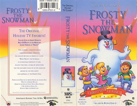 Opening To Frosty The Snowman 1993 Vhs Paramount Home