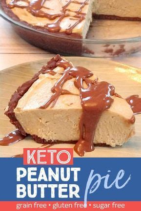 But she had only one simple request; Keto Chocolate Peanut Butter Pie | Recipe | Chocolate peanut butter pie, Sugar free desserts ...