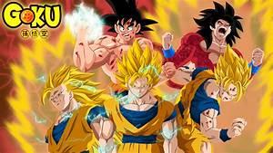 Goku evolution by HayabusaSnake on DeviantArt