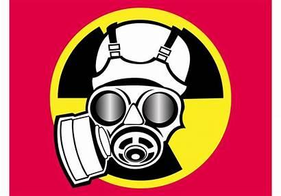 Radiation Symbol Vector Gas Clipart Mask Lenses