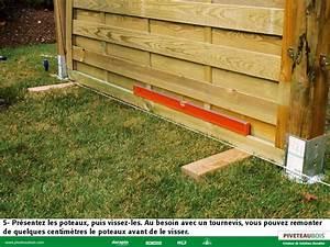 Comment Fixer Un Poteau Bois Au Sol : piveteau bois montage panneaux et astuces youtube ~ Dailycaller-alerts.com Idées de Décoration