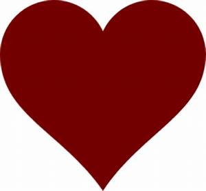 Pic Of Red Heart - ClipArt Best