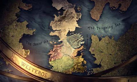 Mapa Político De Poniente