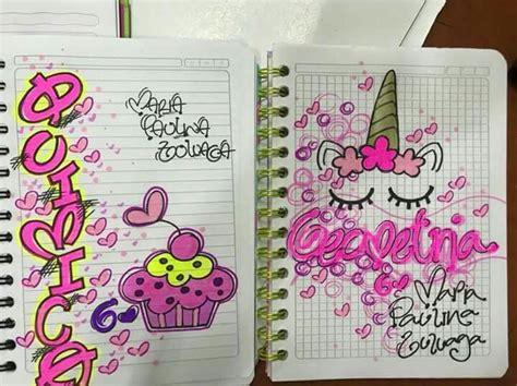 unicornio c a r a t u l a s marcas de cuadernos