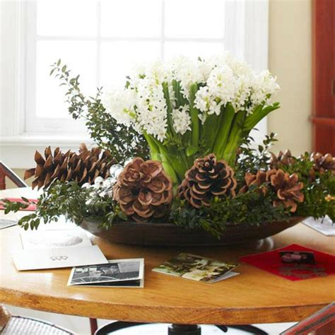 pine cone christmas table decorations advent arrangement itself making 40 great craft ideas