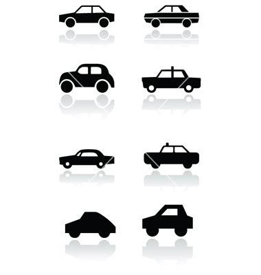icons car rear images car driver silhouette car