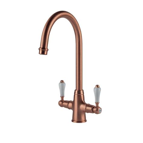 clearwater elegance brushed copper tap kitchen sinks taps