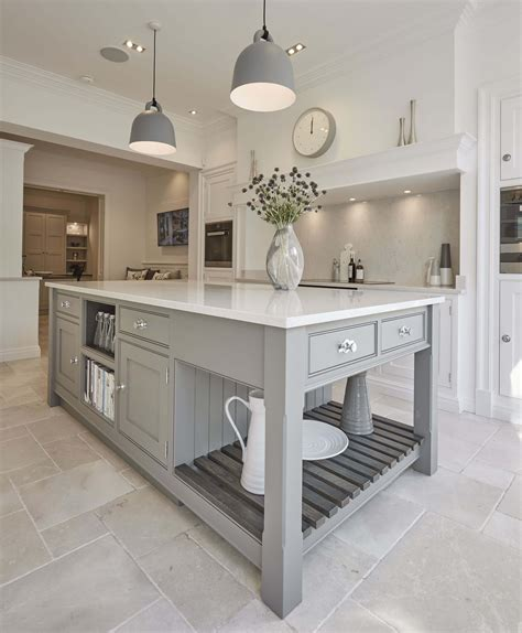 grey shaker kitchen tom howley