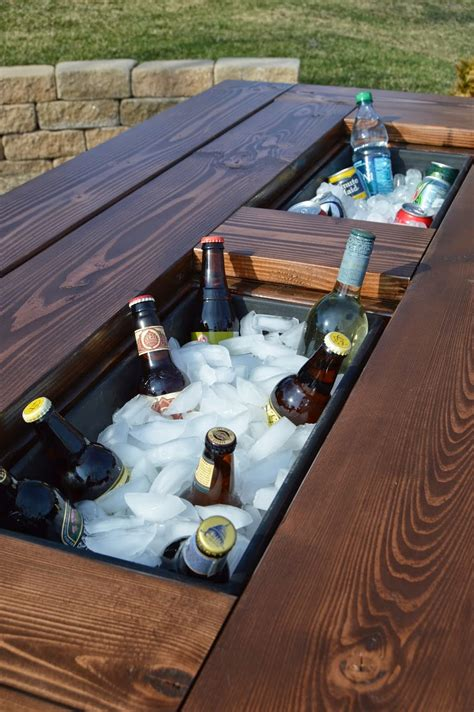 Backyard Table by 15 Amazing Diy Outdoor Furniture Ideas Weekend