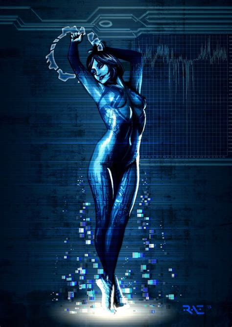 This Shows Cortana From Halo 4 Where She Meets The Master