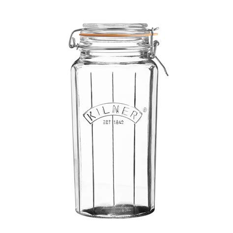 kitchen storage jars uk kilner clip top jar 6182