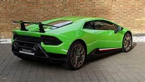 Lamborghini Huracan Performante In Verde Mantis For Sale ...  Lamborghini