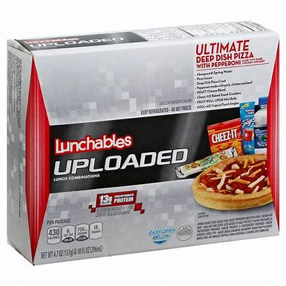 Lunchables Pizza Uploaded Oscar Mayer Pepperoni Dish