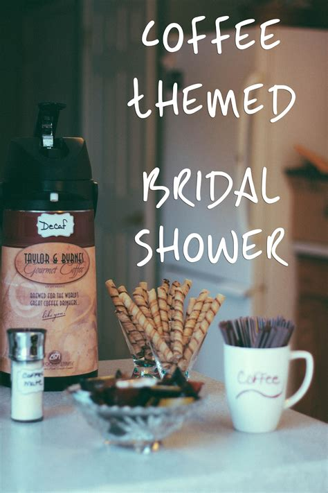 500 x 333 jpeg 31 кб. Coffee-Themed Bridal Shower | Coffee bridal shower, Bridal shower theme, Couple wedding shower