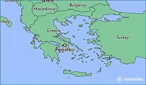 Where Is Peristeri  Greece     Peristeri  Attica Map