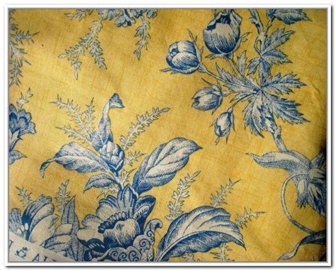 Blue And Yellow Toile Curtains   Blue   Pinterest   Toile