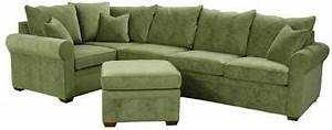 Green chenille sofa sectional sofa design beautiful for Green chenille sectional sofa