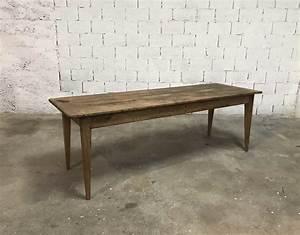 Table En Bois Massif Ancienne : ancienne table de ferme bois massif en 233 cm ~ Teatrodelosmanantiales.com Idées de Décoration